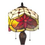 Lampa Tiffany, 35x56 cm, E27 / Max 2 x 60W, Clayre & Eef