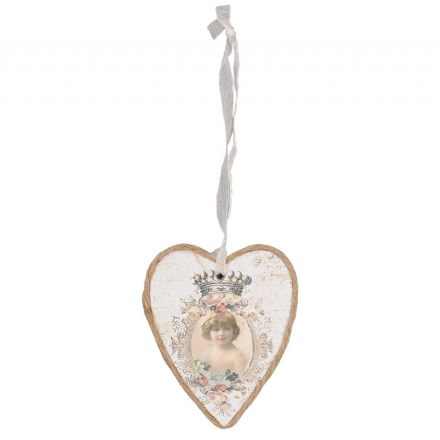 Decoratiune inima, Clayre & Eef