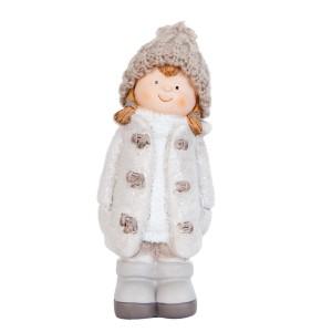 """Decoratiune """"Winter Girl"""", Clayre & Eef"""