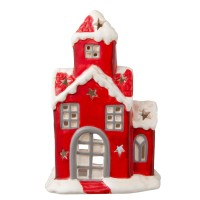 "Suport lumanare Tea/light ""Santa's Home"", Clayre & Eef"