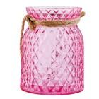 """Suport lumanare """"Havana Pink"""", Clayre & Eef"""