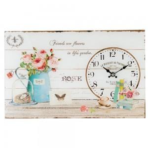 "Ceas ""Le Bouquet de Provence"", 40*4*25 cm, Clayre & Eef"