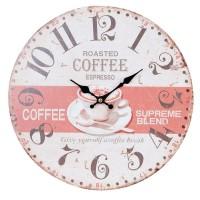 """Ceas """"Roasted Coffee"""" 34*4 cm, Clayre & Eef"""