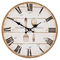 """Ceas """"Le cafe bistro"""" 34*4*34 cm, Clayre & Eef"""