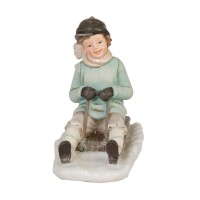 "Figurina ""Winter Boy"", Clayre & Eef"