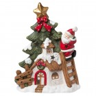 "Suport Tealight ""Christmas Decor"", Clayre & Eef"