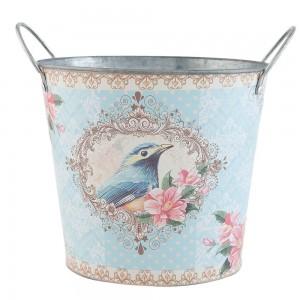 """Suport decorativ pentru ghiveci, """"Blue Bird"""" Clayre & Eef"""
