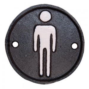 "Semn pentru toaleta ""Men"", Clayre & Eef"