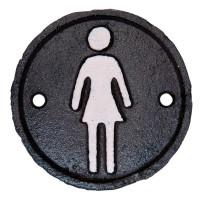 """Semn pentru toaleta """"Women"""", Clayre & Eef"""