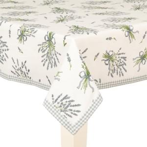 """Fata de masa """"Bouquet de Lavande"""" 100*100 cm, Clayre & Eef"""