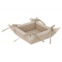 "Cos de paine ""Flower Basket"", Clayre & Eef"