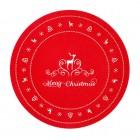 "Suport farfurie ""Merry Christmas"" 35*35 cm, Clayre & Eef"