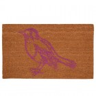 """Covoras de intrare """"Pink Bird"""" 75x45 cm, Clayre & Eef"""