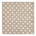 """Servetele de masa """"Just Dots"""" 25*25 cm, Clayre & Eef"""