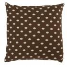 """Fata de perna """"Brown Polka Dots"""" 50*50 cm, Clayre & Eef"""