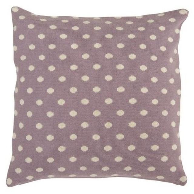"""Fata de perna """"Grey Polka Dots"""" 50*50 cm, Clayre & Eef"""