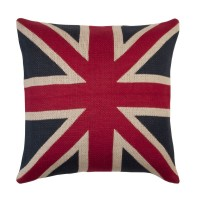 "Perna decorativa ""I love UK"" 50*50 cm, Clayre & Eef"