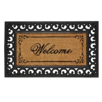 "Covoras de intrare ""Welcome Home"" 75x45 cm, Clayre & Eef"