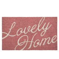 "Covoras de intrare ""Lovely Home"" 75x45 cm, Clayre & Eef"