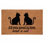 Covoras de intrare All you need, 75x45 cm, Clayre & Eef