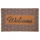 Covoras de intrare Welcome, 75x45 cm, Clayre & Eef