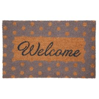 "Covoras de intrare ""Welcome"" 75x45 cm, Clayre & Eef"