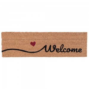 "Covoras de intrare ""Welcome"" 75x22 cm, Clayre & Eef"