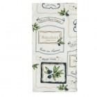 """Servet de masa textil """"Olive Yard"""" 40*40 cm, Clayre & Eef"""