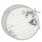 "Perna pentru scaun ""Paradis D'Oiseaux"" 40*40 cm, Clayre & Eef"