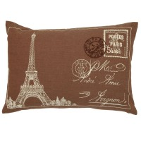 "Perna decorativa ""Paris"" 35*50 cm, Clayre & Eef"