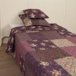 "Cuvertura ""Dark Purple"" Extra Large 300*260 cm, Clayre & Eef"