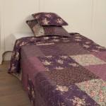 "Cuvertura 260*260 cm ""Dark Purple"" Large, Clayre & Eef"