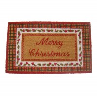 Covoras de intrare Merry Christmas 75x45 cm, Clayre & Eef