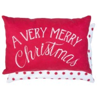 "Perna decorativa ""A Very Merry Christmas"" 35*50 cm, Clayre & Eef"