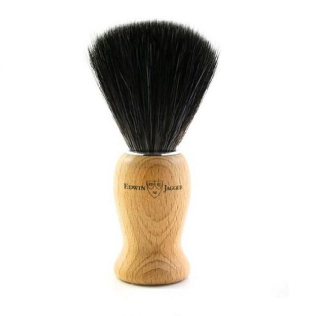 Edwin Jagger Pamatuf pentru barbierit par sintetic, Beech Wood