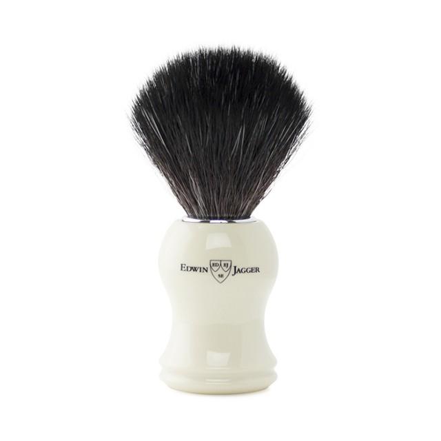 Edwin Jagger Pamatuf pentru barbierit par sintetic, Ivory
