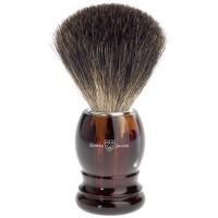 Pamatuf pentru barbierit Tortoiseshell, Pure Badger, Edwin Jagger