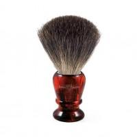 Pamatuf pentru barbierit Tortoise Shell, Pure Badger, Edwin Jagger