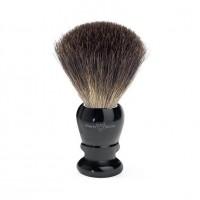Pamatuf pentru barbierit Ebony, Pure Badger, Edwin Jagger