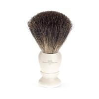 Edwin Jagger Pamatuf pentru barbierit Ivory, Pure Badger