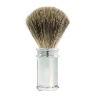 Edwin Jagger Pamatuf pentru barbierit Classic Silver, Pure Badger