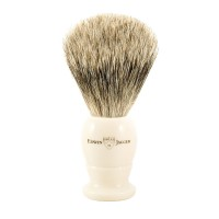 Pamatuf pentru barbierit, Ivory, Best Badger, Small, Edwin Jagger