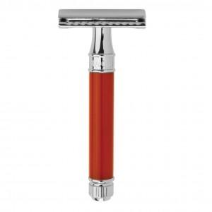 Aparat de barbierit clasic, DE81BL Red, Edwin Jagger