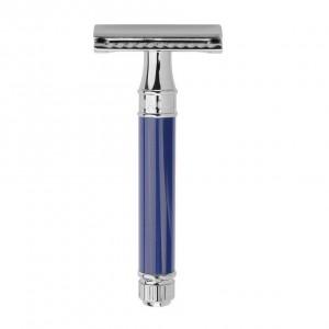 Aparat de barbierit clasic, DE83BL Blue, Edwin Jagger