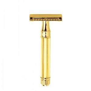 Aparat de barbierit clasic, DE89811GBL Octagonal Gold, Edwin Jagger