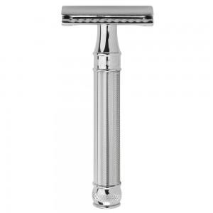 Aparat de barbierit clasic, DE89BA11BL Chrome, Edwin Jagger