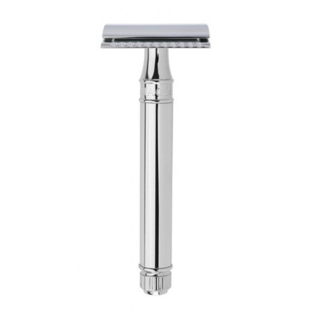 Edwin Jagger Aparat de barbierit clasic, DEL8914BL Long Chrome