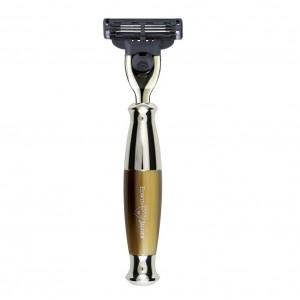 Aparat de barbierit lama Mach3, R35211 Light Horn, Edwin Jagger