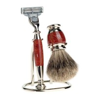 Set de barbierit 3 piese S281M213 Briar Wood, Diffusion Range, Edwin Jagger