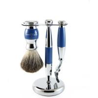 Set de barbierit 3 piese S81SB353CR Blue, Edwin Jagger